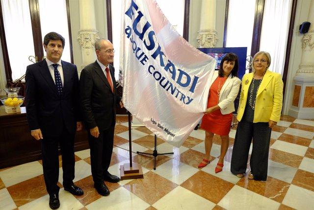 Vasco gobierno programa presentación acciones turismo