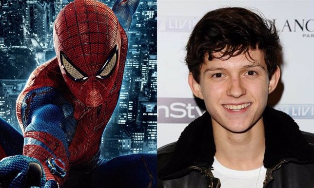 Nuevo Spiderman Tom Holland