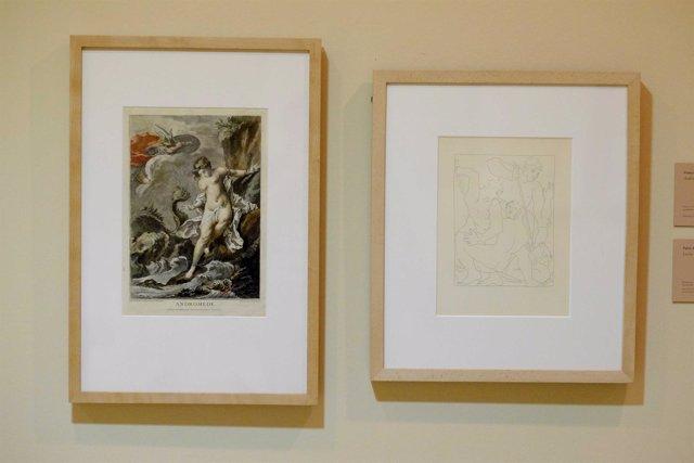 Muestra Las Metamorfosis de Ovidio exposición Picasso arte cultura