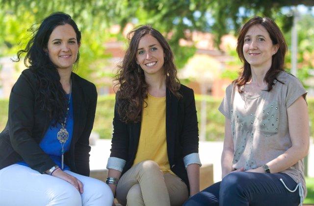 Investigadoras de la Universidad de Navarra.