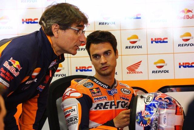 Dani Pedrosa. Gran Premio De Francia