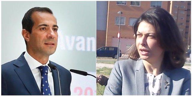 Salvador Victoria y Lucía Figar.
