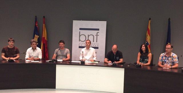 Pleno del Ayuntamiento de Binéfar (Huesca)