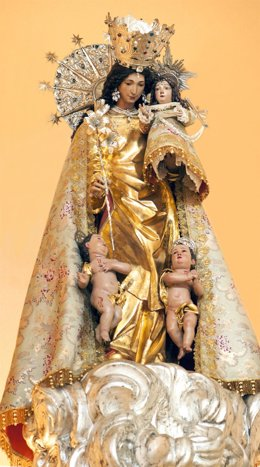 Imagen de la Virgen cedida