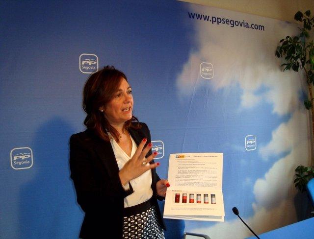 La diputada Beatriz Escudero