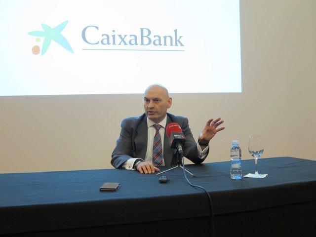 El juez Gómez Bermudez en rueda de prensa en Pamplona
