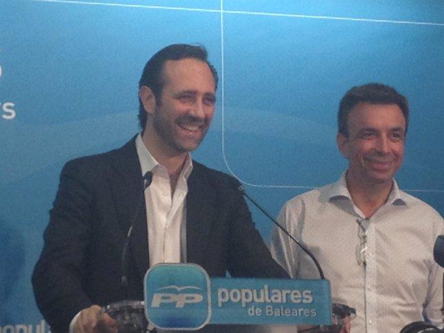 El presidente del PP en Baleares, José Ramón Bauzá