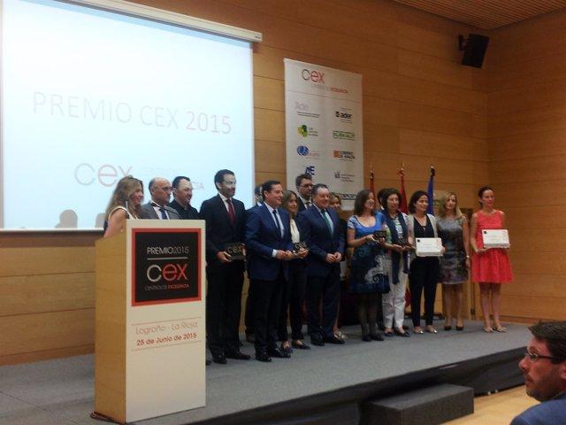 Clausura de los Premios nacionales CEX 2015