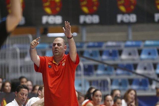 Lucas Mondelo selección española baloncesto femenino