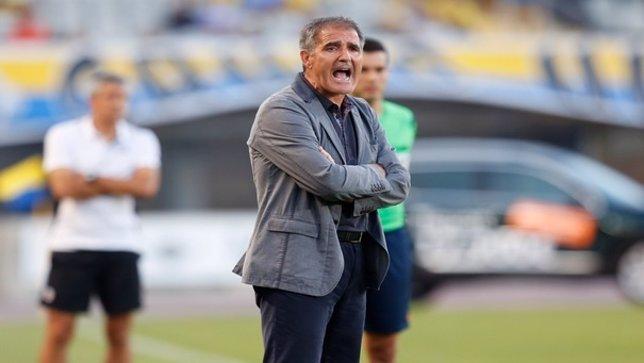 Paco Herrera, entrenador de Las Palmas
