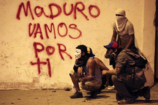 Protestas en Venezuela contra Maduro