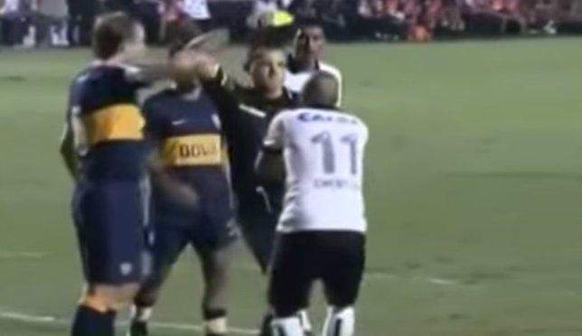 El árbitro Amarilla en Copa Libertadores 2013