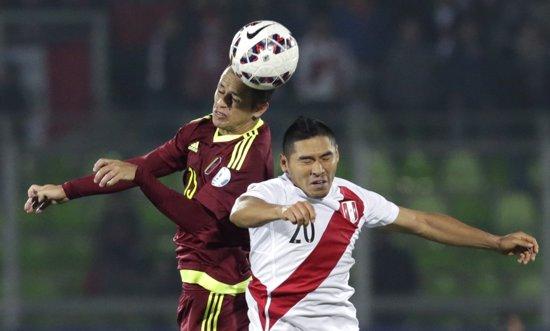 Peru vence Venezuela e empata Grupo C da Copa América