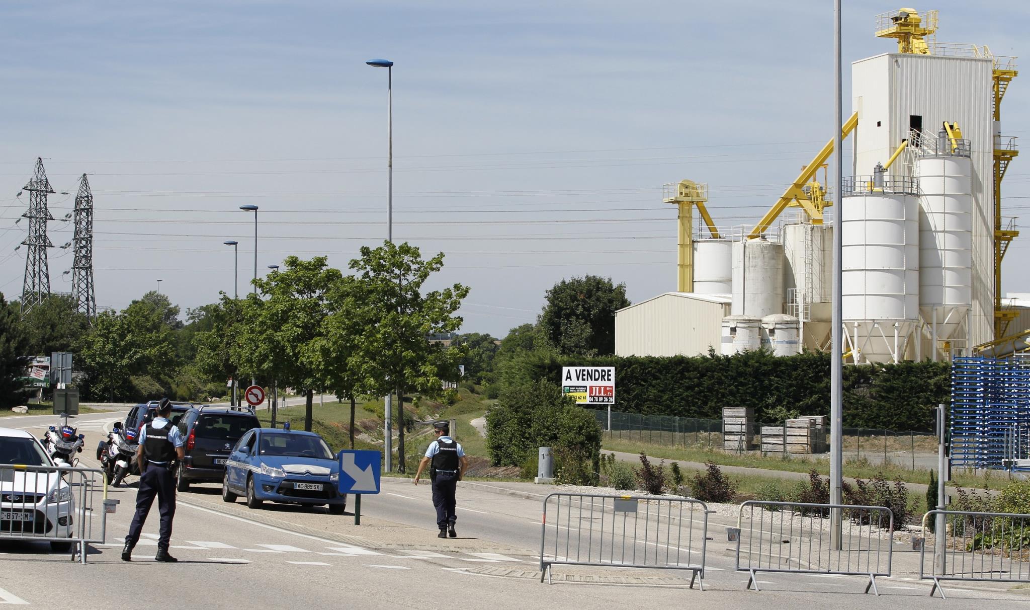 Presunto atentado en Francia