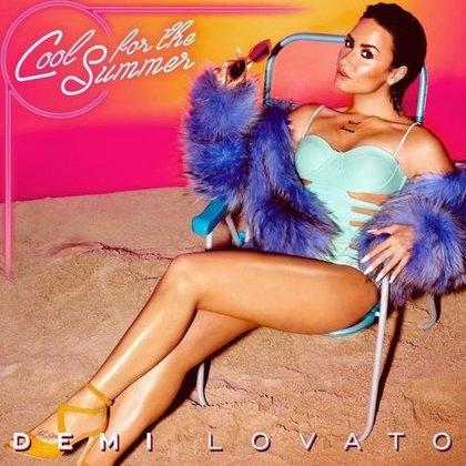 Portada del nuevo single de Demi Lovato, que llegará el 1 de julio: Cool for the summer