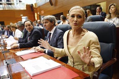 Cifuentes nombra a Garrido portavoz de Gobierno y prescinde de los consejeros de González