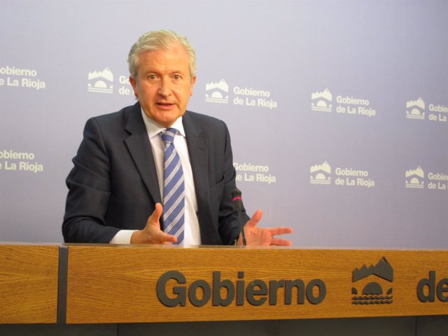 Emilio del Río portavoz del Gobierno riojano
