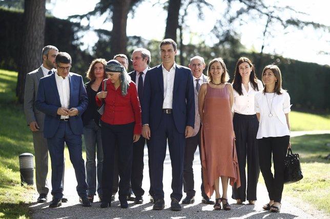 Equipo de expertos del PSOE para programa elecciones de Pedro Sánchez