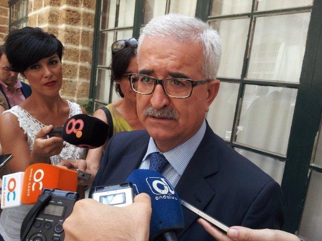Jiménez Barrios en declaraciones a los medios