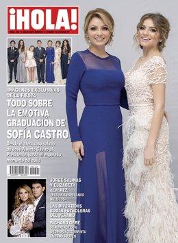 Portada de la edición mexicana de la revista ¡Hola!