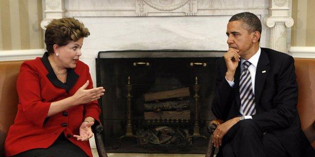 Rousseff Se Reúne Con Obama En La Casa Blanca
