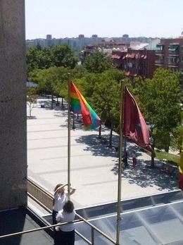 Izan la bandera arcoíris en una Junta de Distrito