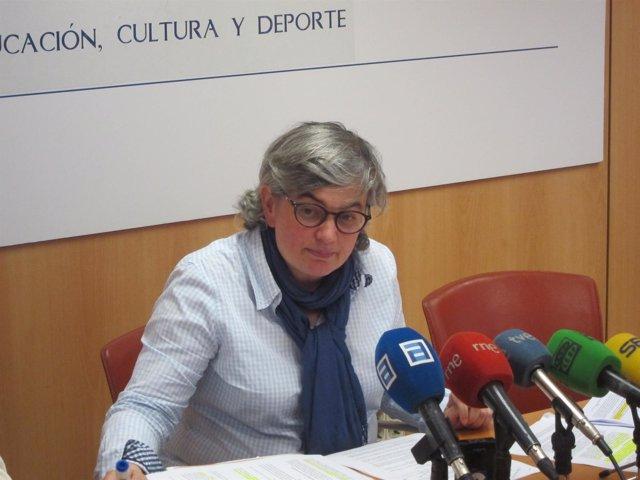 La Consejera de Educación, Ana González