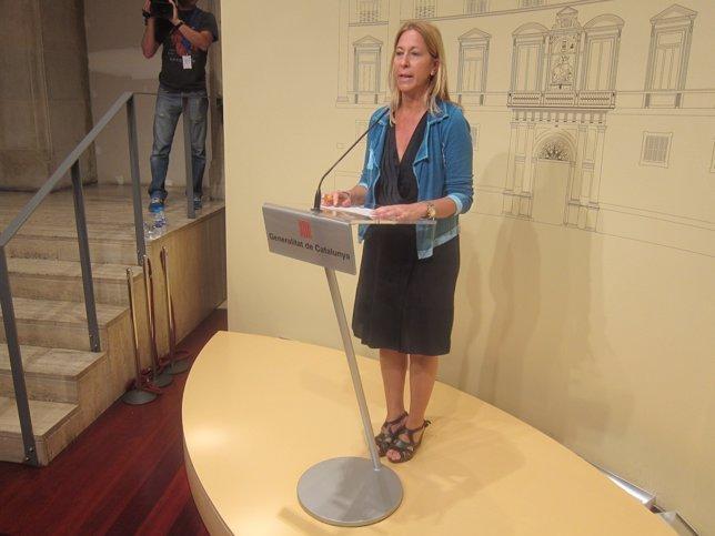 Neus Munté, vicepresidenta de la Generalitat
