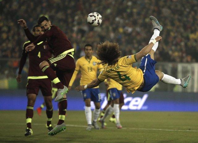 Brasil Venezuela en Copa América 2015