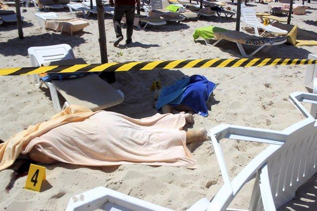 Imagen de la playa de Túnez