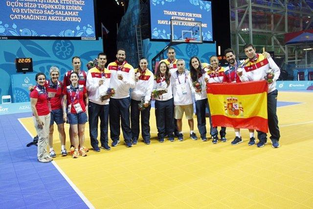 El baloncesto y Marcos Rodríguez engordan el medallero español