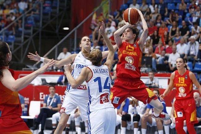 Francia elimina a España en el Eurobasket