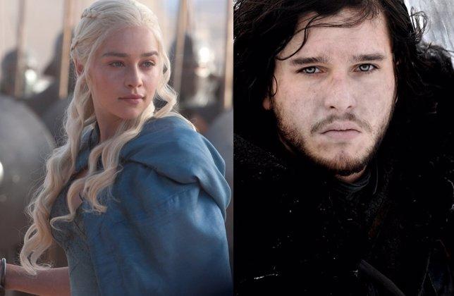 Juego de Tronos, Daenerys y Jon Nieve