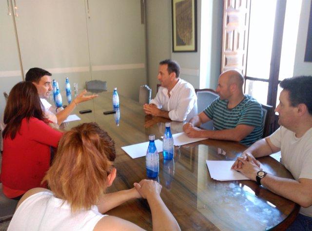 El portavoz del PSOE en el Parlamento andaluz, Mario Jiménez