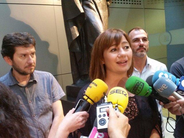 La nueva presidenta del Govern, Francina Armengol