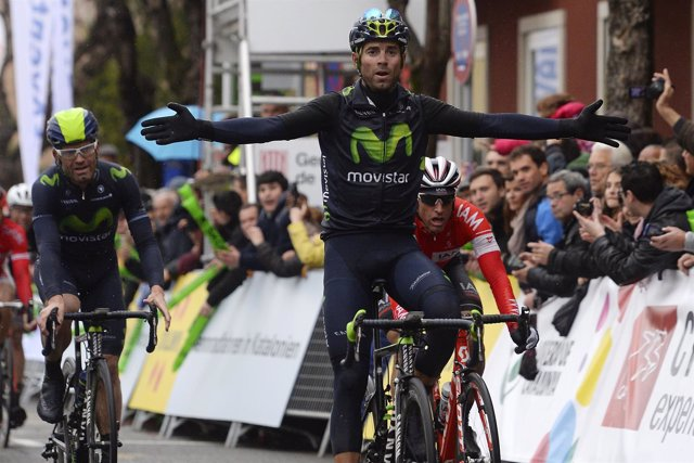 Alejandro Valverde en la Volta a Catalunya