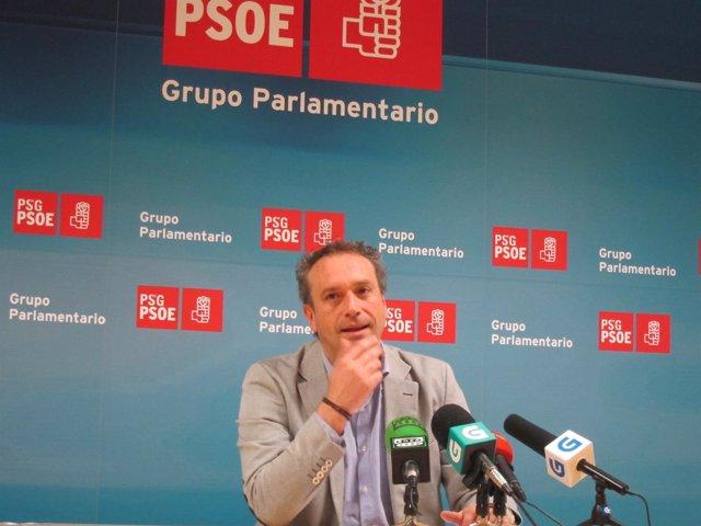 Pablo García , en rueda de prensa