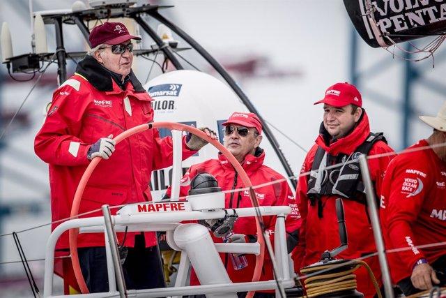 MAPFRE Rey Juan Carlos costera Suecia Volvo Ocean Race