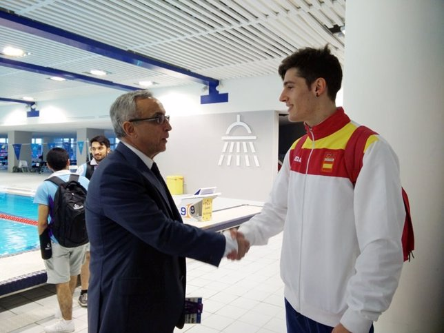Alejandro Blanco COE Alberto Lozano natación Bakú 2015