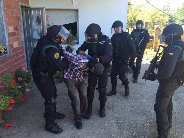 Detención de un hombre en Salvaterra