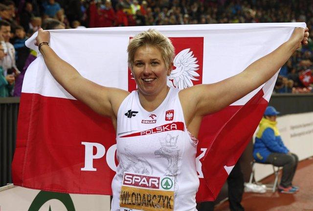 La atleta polaca Anita Wlodarczyk