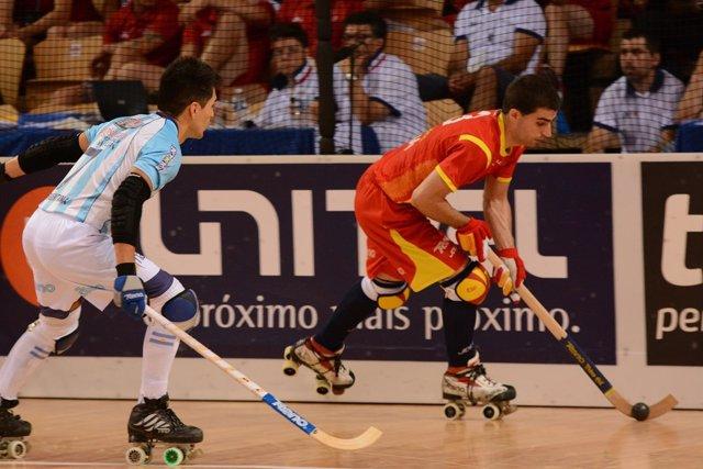 España pierde con Argentina en la final del Mundial de hockey patines