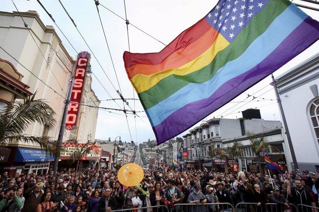 Celebración del Orgullo Gay en San Francisco, EEUU