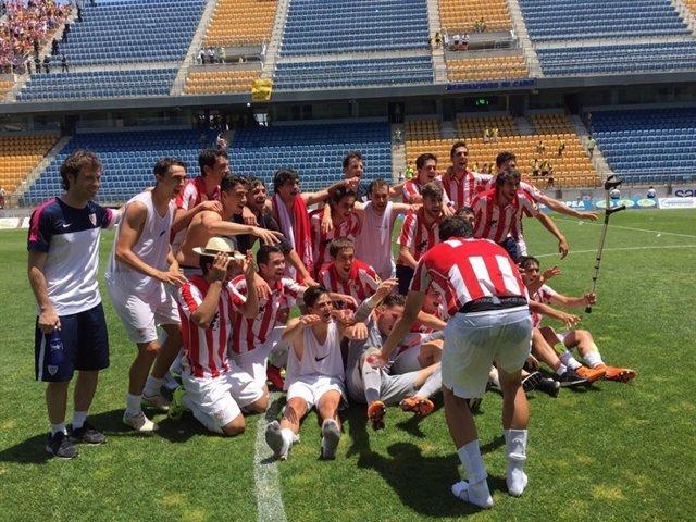 Bilbao Athletic ascenso Segunda Cádiz