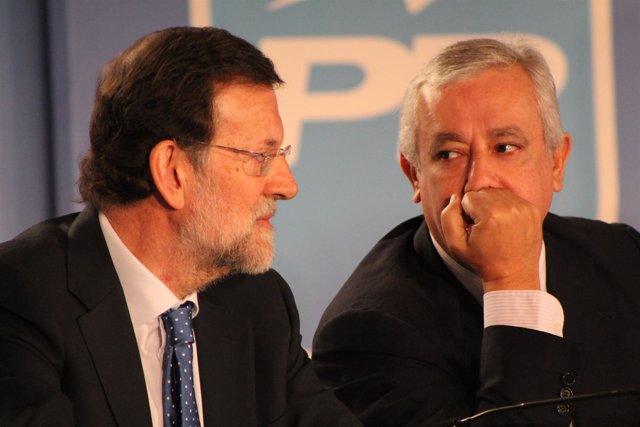 Rajoy y Arenas