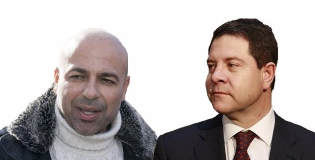 Montaje de García-Page y García Molina.