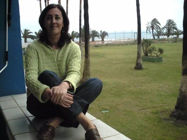 La poeta Pilar Blanco
