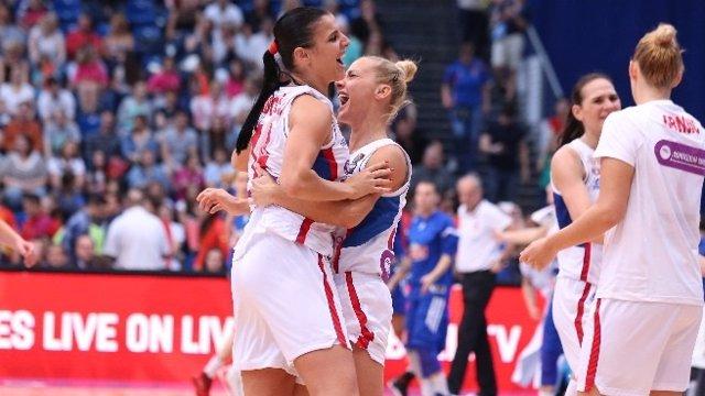 Serbia sucede a España como campeona de Europa