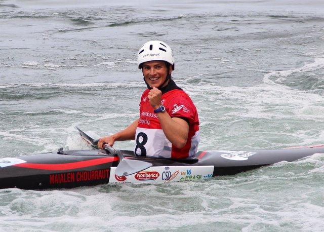 Maialen Chourraut logra su segunda medalla de oro de 2015