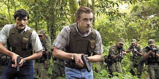 Captura de la serie 'Narcos' de Netflix